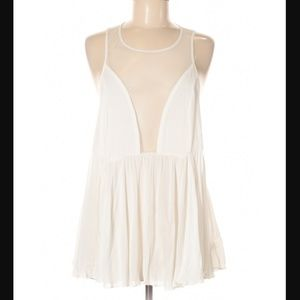 NWT Free People Open Back Allusion Tank